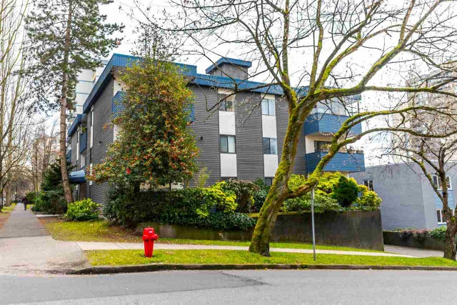 206 1396 BURNABY STREET - West End VW Apartment/Condo for sale, 1 Bedroom (R2139387) #1