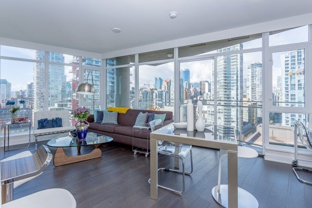 2003 1372 SEYMOUR STREET Vancouver West  - Downtown VW Apartment/Condo for sale, 1 Bedroom (R2159400) #1
